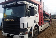Scania P 114 LB, vehicle transporters, diesel